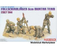 Fallschirmjager 8cm Mortar Team Italy 1944