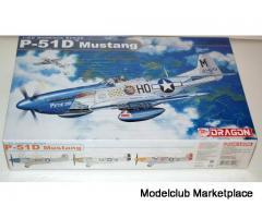 P-51D MUSTANG, DRAGON 1/32