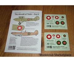 Blue Rider CD-002 Tintin's Aircraft No2