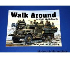 M2/M3 HALF TRACK WALK AROUND (Squadron)