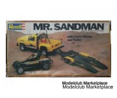 Mr. Sandman with Chevy Pickup and Trailer