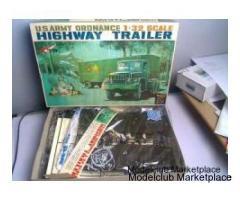 US Army Ordnance Highway Trailer 1/32