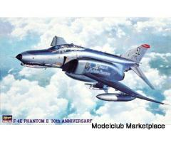 Hasegawa PT08 F-4E PHANTOM II 30TH ANNIVERSARY (One Piece Canopy) 1/48 Scale Kit