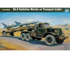 SA-2 Guideline Missile on Transport trailer