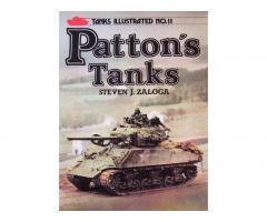PATTON΄S TANKS (Tanks Illustrated No.11)  by Steven J. Zaloga