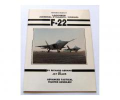 F-22 (Aerofax Extra 5) by Jay Miller