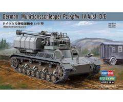 German Munitionsschlepper Pz.Kpfw.IV Ausf.D/E