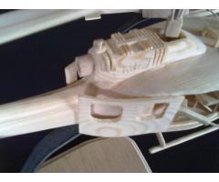 Ξύλινο μοντέλο HUEY IROQUOIS