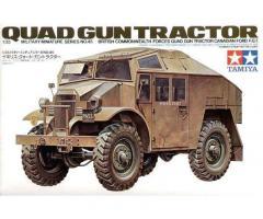 QUAD GUN TRACTOR-TAMIYA