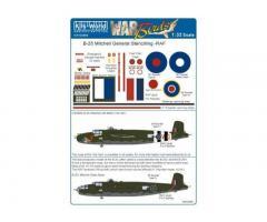B-25J Mitchell General Markings RAF & SEAC