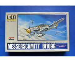 Messerschmitt Bf109G ARII 1/48 + Eagles Cals (code EC27) + Aires resin, PE (code 4034)  (*GA*)