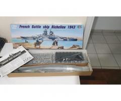 Richelieu 1943 French Battleship