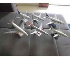 Six aircraft models