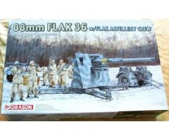 88mm FLAK 36 w/FlaK Artillery Crew