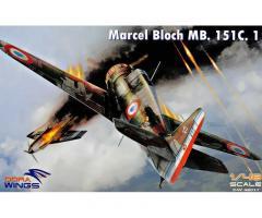 BLOCH MB.151C-1, DORA WINGS 1/48