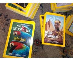 Συλλογή Περιοδικών National Geographic (στα Αγγλικά)