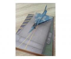 Mirage 2000 EGM 1/48 + ξυλινη βάση