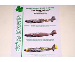 Bf109G-10 EXITO Decals (ED48006)