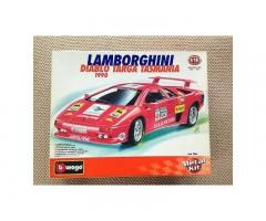 1/18 metal kit Burago Lamborghini Diablo Targa Tasmania (1990)