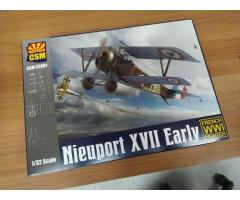 Copperstate models Nieuport XVII Early 1/32, Sopwith 5F.1 Dolphin 1/48