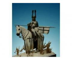 Templar Knight Mounted