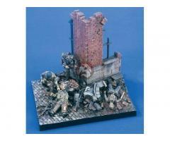Verlinden # 1823 Battle Arnhem British Red Devils WWII 4 Figures