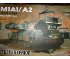 1/35 M1A1 / A2 Abrams With Full Interior 2in1 στα 60
