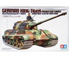 German KING TIGER, TAMIYA 1/35