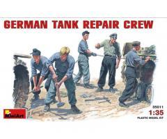 German tank repair crew, MiniArt 1/35