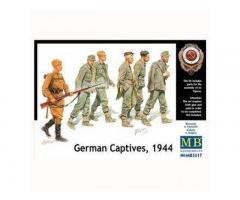 German Captives 1944, Master Box 1/35