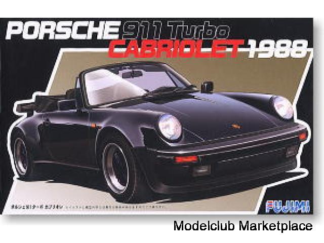 Porsche 911 Cabrio Turbo 1988 1/24 Fujimi