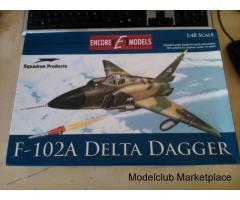 F-102A Encore Models 1/48
