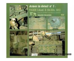 ΝΕΑ ΤΙΜΗ-ARMOR IN DETAIL No 1 ( Tiger I Ausf.E )