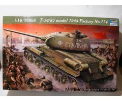 T - 34/85 ή Τ - 34/76 1:16 TRUMPETER