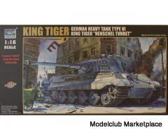 TRUMPETER - KING TIGER - 1/16