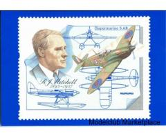 R.J. MITCHELL 1895-1937, Αναμνηστικό γραμματόσημο