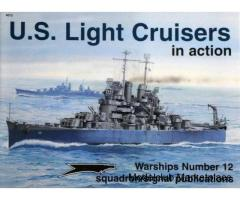 US LIGHT CRUISERS IN ACTION (Squadron)