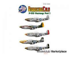 barracuda 1/48 decal mustang BC 48011