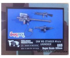 SAW MG-STINGER-M16/w LAUNCHER