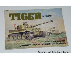 TIGER IN ACTION (Squadron Armor 27)