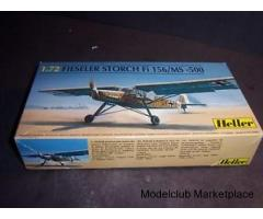 Fieseler Storch Fi 156/MS 500 1/72 Heller