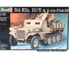 Sd.Kfz 10/5 + Flak 38 1/35 Revell