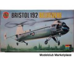 Bristol 192 Belvedere 1/72 Airfix