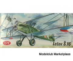 Letov S-16 1/72 KP