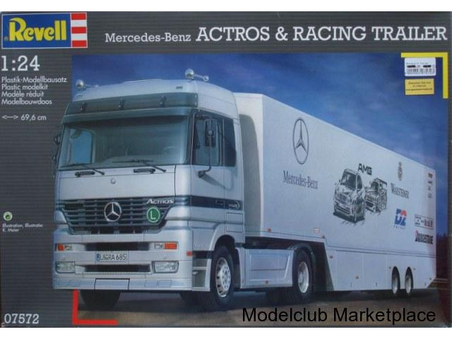 Revell Mercedes-Benz Actros and Racing Trailer