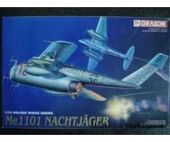 Μesserschmitt Me 1011 Nachtjager  1/72 Dragon