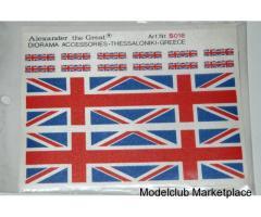 BRITISH FLAGS 1/35