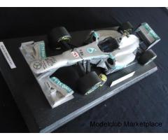 Mercedes W04 Lewis Hamilton Ξύλινο Μοντέλο