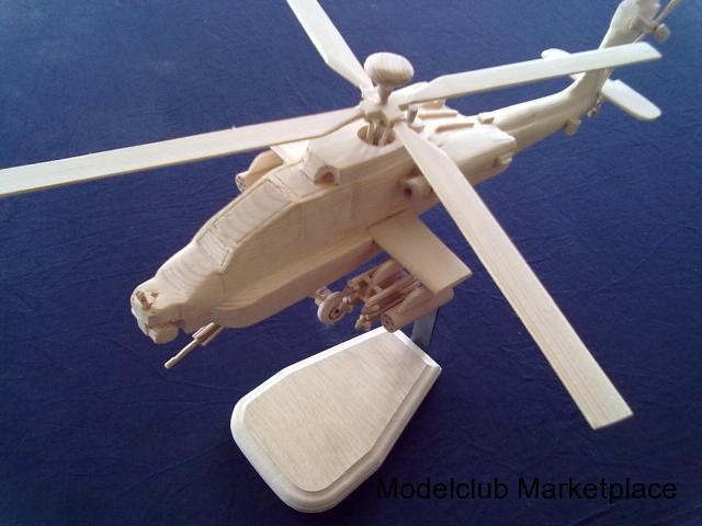 Apache AH-64 Ξύλινο