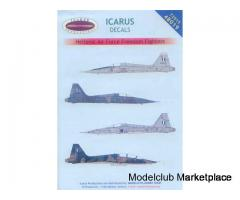 1/48 ICARUS DECALS F-5